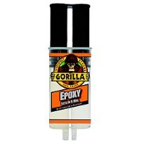 Gorilla 5 minute epoxy (reduced to clear)